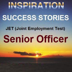 Success Story Book-JET Senior Officer