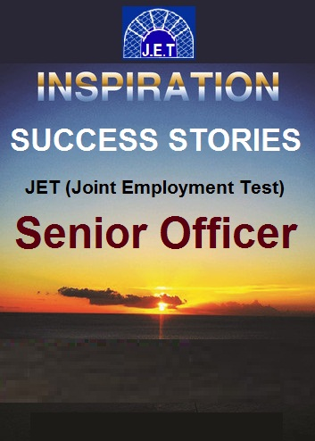 Success Story Book-JET Senior Officer
