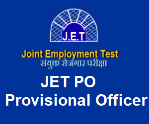 JET Provisional Officer syllabus