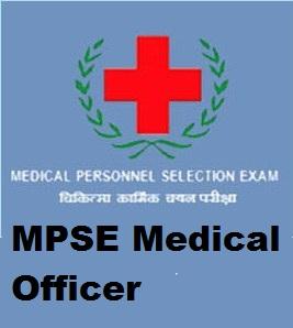 MPSE Medical Officer MO syllabus