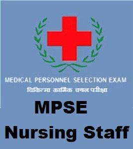 MPSE Nurse/Attender Staff Exam