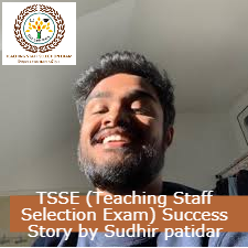 TSSE (Teaching Staff Selection Exam) Success Story by Prashant Mishra